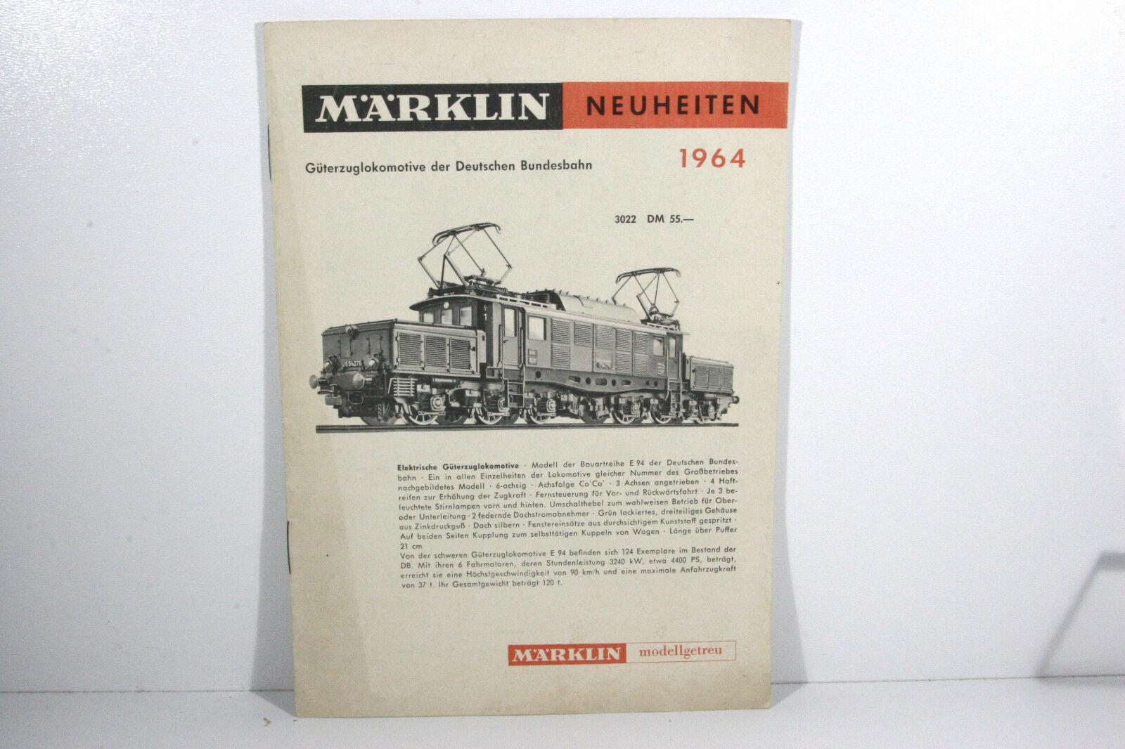 Märklin News Journal 1964, with Accessory, Beautiful