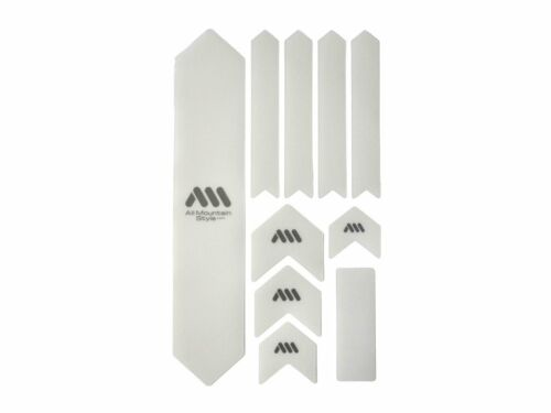 XL All Mountain Style AMS Honeycomb Frame Guard EXTRA Clear Transparent