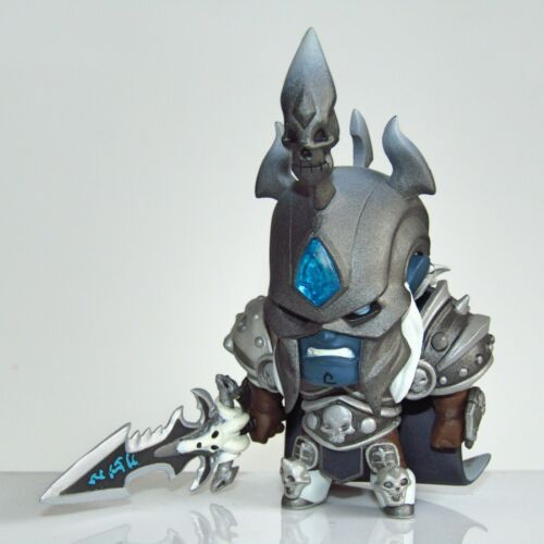 Blizzard Hearthstone Warcraft Arthas the Lich-King Cute but Deadly Vinyl Figure