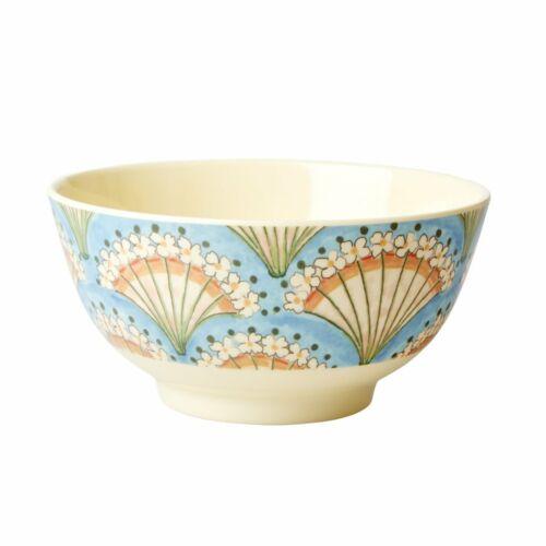 Flower Fan melbw-Flfa Rice: two Tone Bowl From Melamine 15 cm