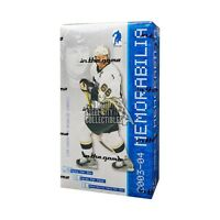 2003-04 In The Game Be A Player Memorabilia Hockey Hobby Box