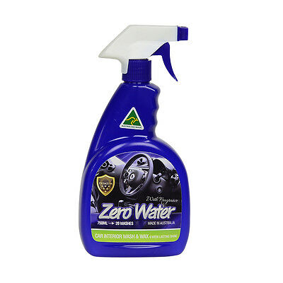 Car Wash And Wax >> Zero Water Interior Car Wash And Wax Waterless Australia Made With Fragrance Ebay