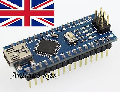 Arduino Mini Nano V3.0 ATmega328 Mini USB Unsoldered Kit UK Seller
