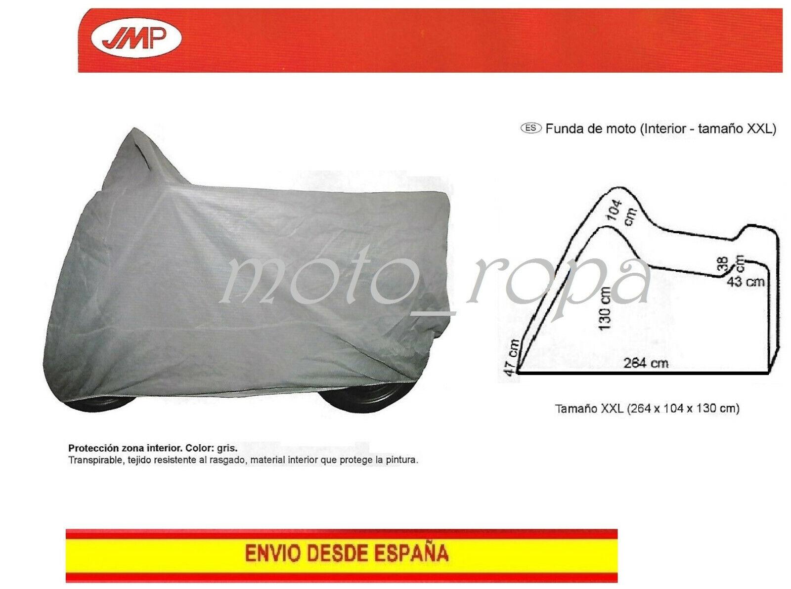 Funda de Moto Interior Proteccion Moto Custom Scooter Talla XXL