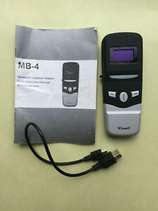 Details about Mercedes Benz ViseeO MB-4 BLUETOOTH MOBILE PHONE ADAPTOR  CRADLE + manual #2
