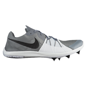 Nike Men's Zoom Forever XC 5 Track and Field Shoes Grey/Black/White size 8