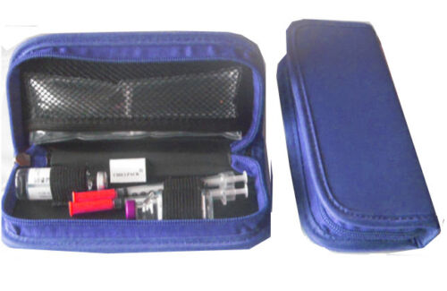 2 ice pad included-Large for larger or 2/'s pen Diabetes Insulin cooler case