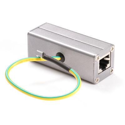 RJ45 Adapter Ethernet Surge Protector Network Device Lightning Arrester Protect