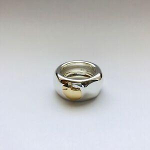 miglior servizio 312c7 b9ebe Dettagli su Dodo Pomellato anello fascia fascione in argento con dodo mis  53 originale nuovo