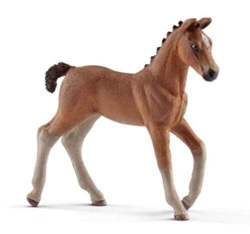 Schleich 13818 Bay Hanoverian Foal Warmblood Horse Toy Figurine 2017 NIP