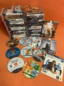 Sony-PlayStation-3-PS3-Game-Lot-of-43-Call-of-Duty-Tiger-PGA-Masters-amp-More