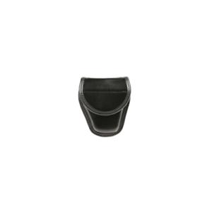 BlackHawk 44A100PL Black Nylon Molded Dual Snap Single Handcuff Duty Pouch