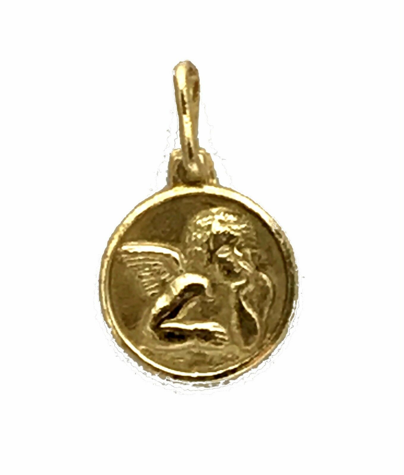 14K Solid  Yellow  gold  Charm Pendant  Jewelry