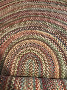 New Ll Bean X Capel Rugs Oval Braided Area Rug 8 X 11
