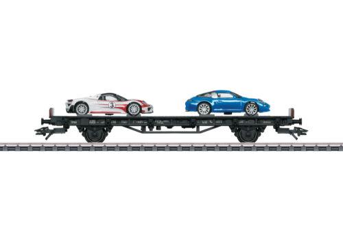 "Märklin 45058 auto carro de transporte /""70 años Porsche-auto deportivo 8/"" #neu en OVP #"