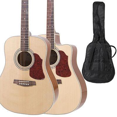 Dreadnought Guitar Size : kalos 41 full size dreadnought acoustic cutaway guitar ebay ~ Hamham.info Haus und Dekorationen