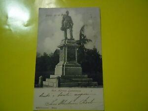 Bielle-Belle-Carte-Postale-D-039-Epoque-Neuve-1903-Monument-a-Alfonso-Lamarmora