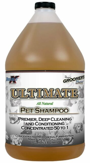 """""""ULTIMATE"""" - DOUBLE K HIGH CONCENTRATE DOG/HORSE SHAMPOO 3.8L"""