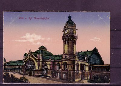 hauptbahnhof- europa:11338 Gelaufene Ansichtskarte Köln