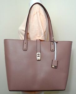 fbd092436 Image is loading Michael-Kors-Karson-Fawn-Pebbled-Leather-Large-Carryall-