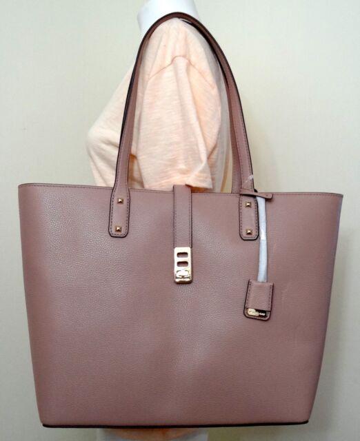 8e3f71e11c74 Michael Kors Karson Fawn Pebbled Leather Large Carryall Tote Bag