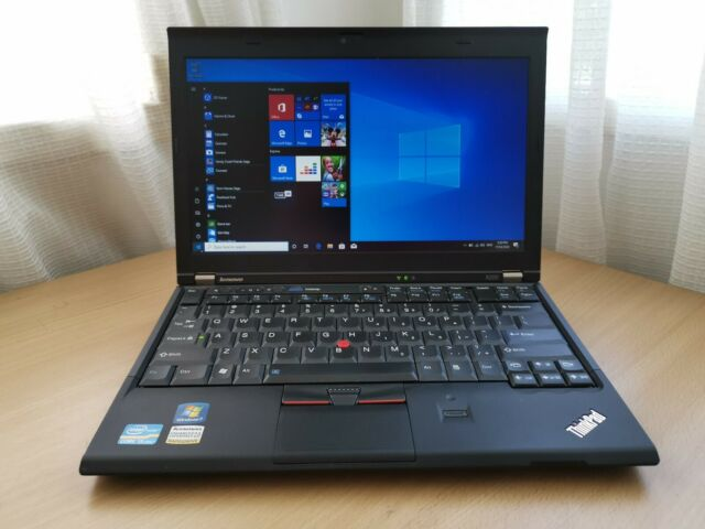 "Lenovo ThinkPad X220 12.5"" Laptop/Notebook i5-2520M 2.5GHz 4GB 320GB HDD Win10P"