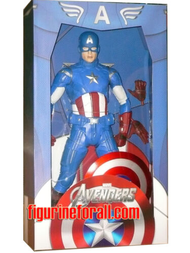 "Neca AVENGERS Movie CAPTAIN AMERICA 18/"" 1//4 Scale Action Figure Marvel SEaled"