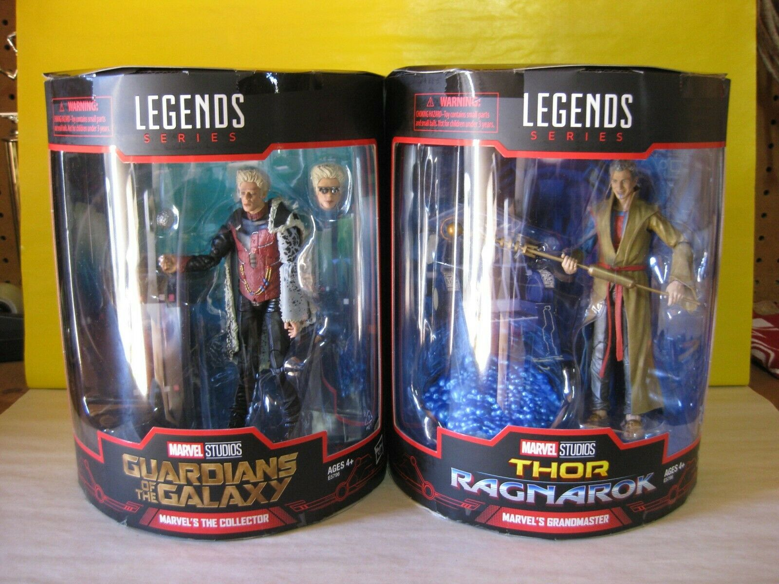 2018 Marvel Legends SDCC Exclusive 6 Collector & Gremaster 2 Pk nuovo MIP Thor