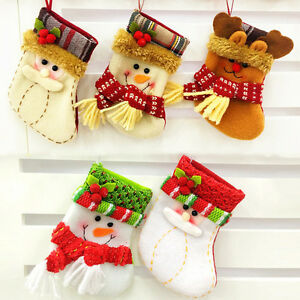 Christmas-Stocking-Snowman-Santa-Claus-Reindeer-Socks-Kid-Xmas-Gift-Bag-Stocking