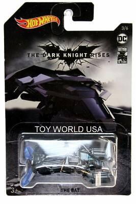 Batman Series Hot Wheels The Bat #6 of 8 The Dark Knight Rises HA7