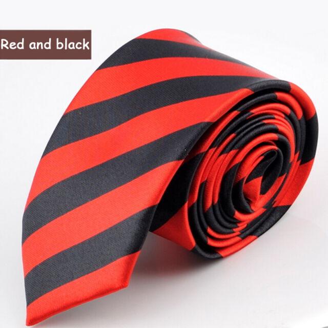 Men Women Unisex Tie White Checkered Skinny NECKTIE Black Slim Soft Classy