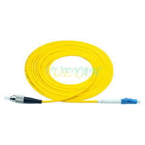 5pcs-5m-LC-to-FC-UPC-Single-Mode-SM-Simplex-Fiber-Optic-Patch-Cord-Cable-Jumper