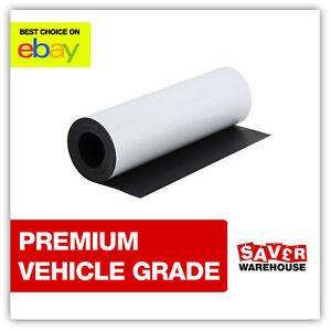 Magnetic Vinyl Sheets Vehicle Grade