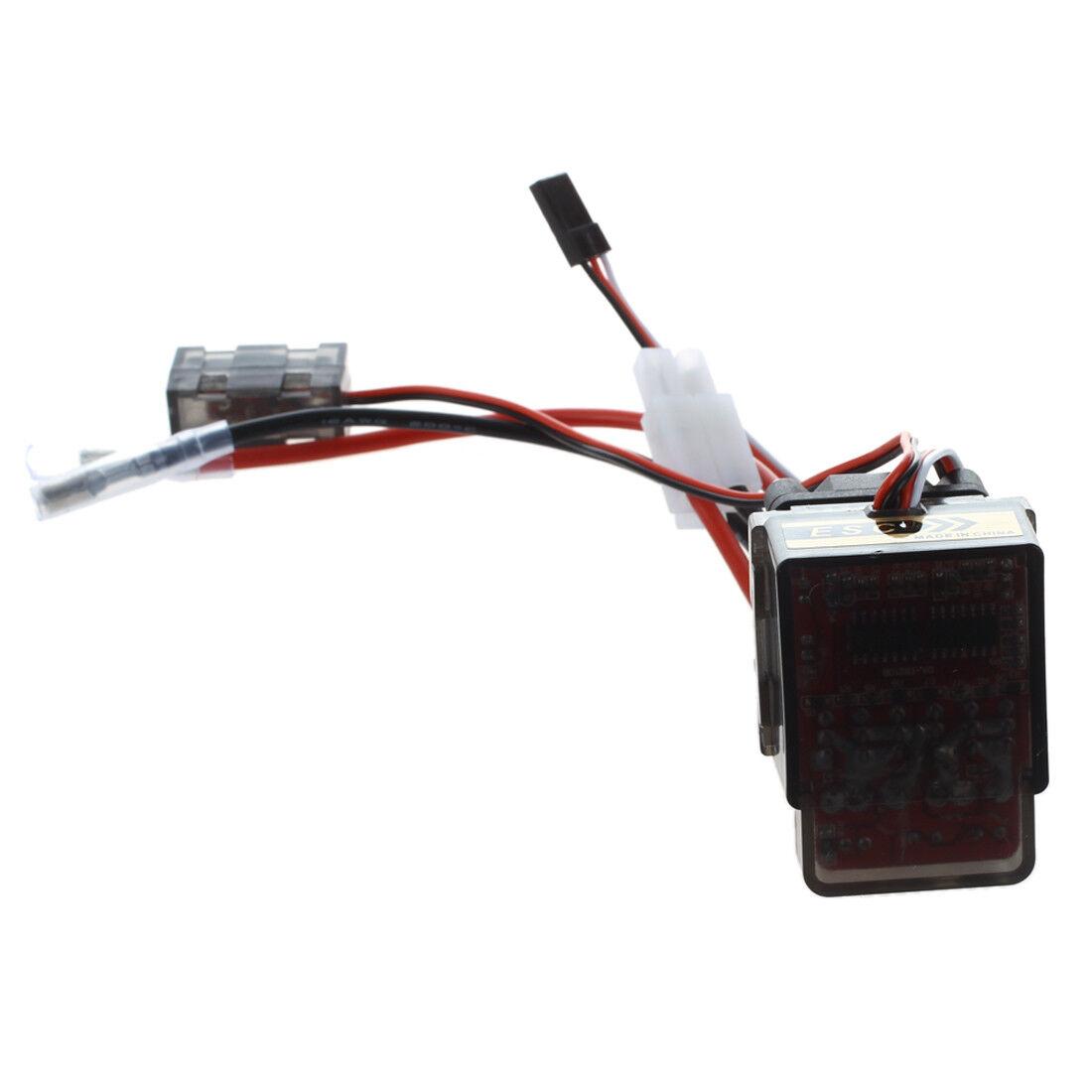 10x (sodial (R) 320a alto regulador de voltaje con una buerste ESC para RC todoterreno e GL