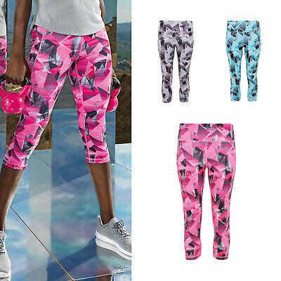 Self-Conscious Tridri Women's Performance 3/4 Length Corners Leggings tr302 Gym Leggings Special Buy