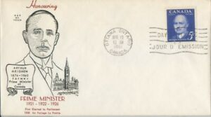 CANADA-1961-Prime-Minister-Arthur-Meighen-addressed-FDC-JD2237
