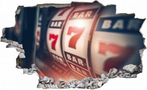 Casino Glücksspiel Wandtattoo Wandsticker Wandaufkleber C0850