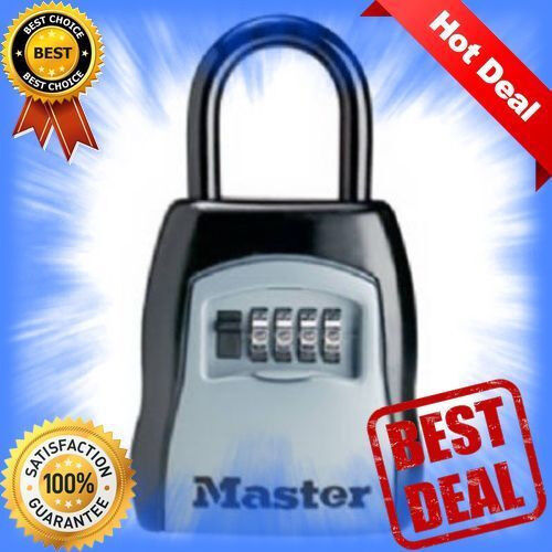 Set Your Own Combination 5 Key Capacity 5400D Black RARE Lock Box Master