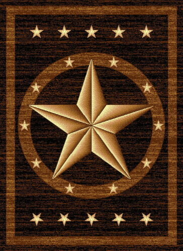 and Runner 3x10ft Daria 5220 Star Rustic Cowboy Decor Area Rugs 8x10ft,5x7ft