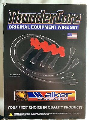Walker Products 910-1613 Thundercore Spark Plug Wire Set
