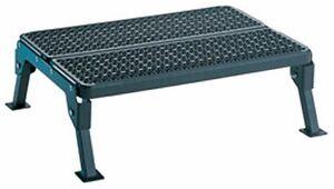 Folding Platform Step 24 Quot Cleaning Molded Plastic Steel Rv