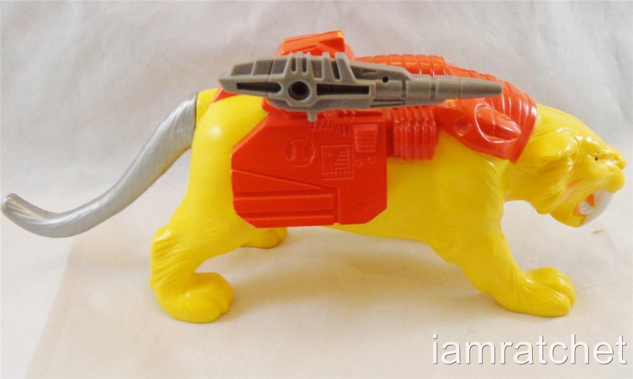 Transformers Original G1 Pretender Catilla Near Complete