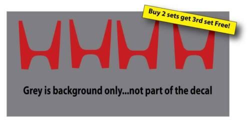 4 Honda Logos Funny Decal Sticker JDM Racing illestTruck//Car Windows Free Ship