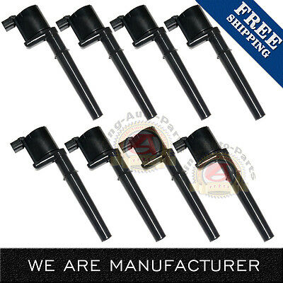 NEW 8 Pack Ignition Coils fits Various Lincoln Ford GT Mustang DG512 C1141 UF191