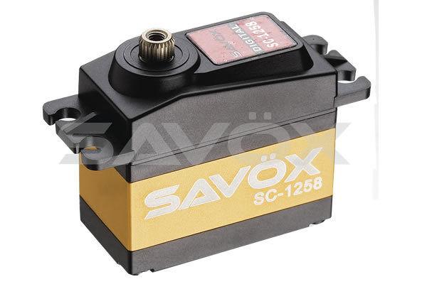 Savox Servo SC-1258TG High Torque Coreless Digital Servo 12kg @ 6.0v