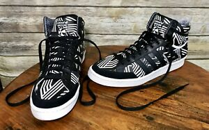 Details about Adidas Originals Americana high top Hi 88 black suede Basketball SHOES