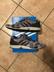 e1a2db2b8bb86 Image is loading Adidas-ZX-Flux-Decon-Camo-Grey-US-10-