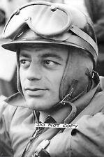 9x6 Photograph, Nano da Silva Ramos  B&W Portrait 1950s F1 Gordini