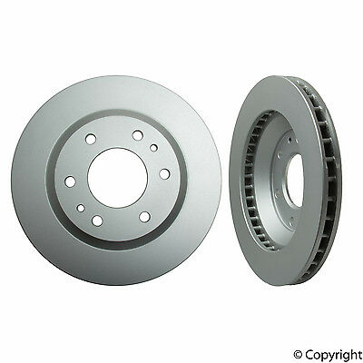 2-Pieces Meyle GeoMet Coated Front Brake Rotors