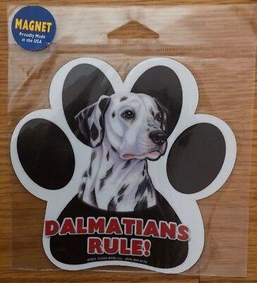 Pekingese Rules Waterproof Bumper Sticker Magnet NIP